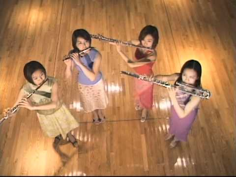 Flute  ensemble Lynx JAPAN Toccata und Fuge in d-Moll