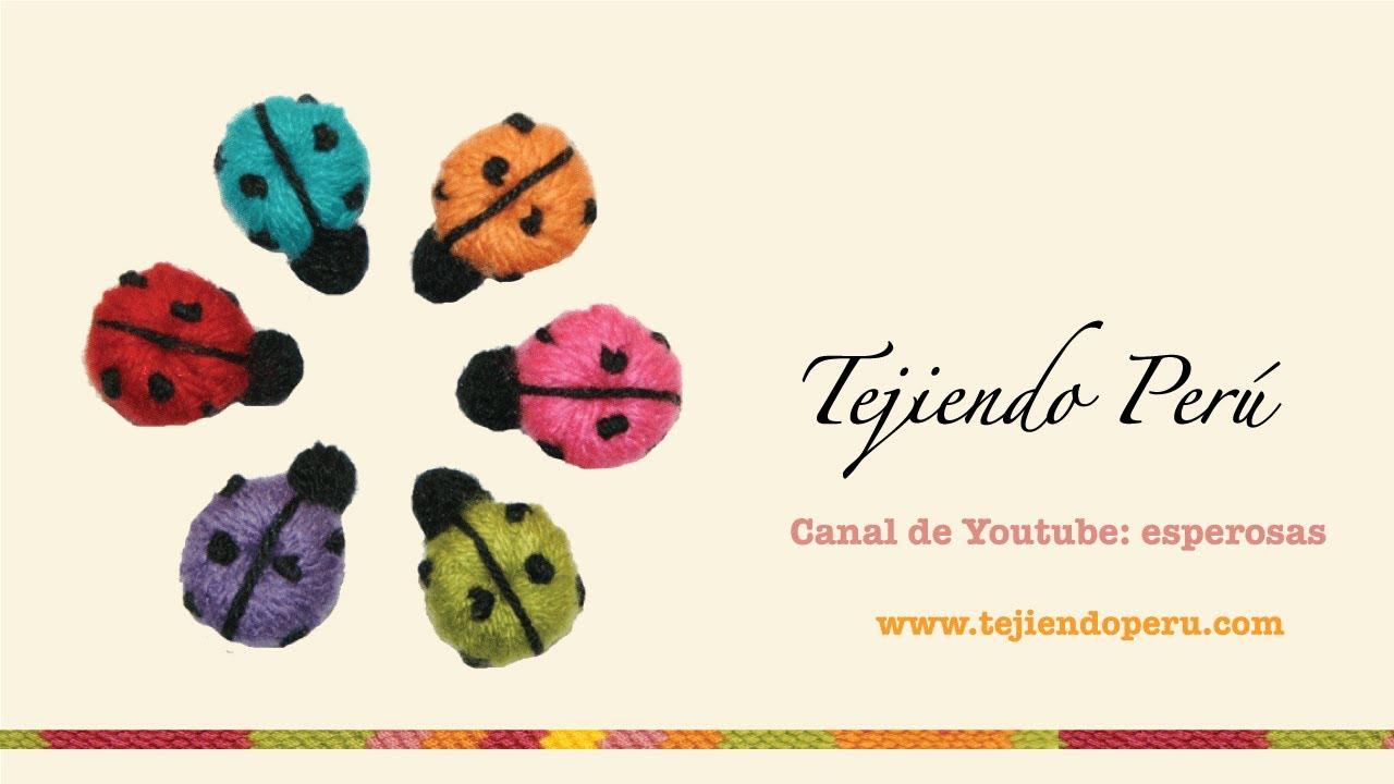 Excelente Patrón De Crochet Libre De La Mariquita Friso - Ideas de ...