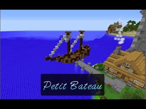 Tuto Minecraft 5: Comment faire un petit bateau ?