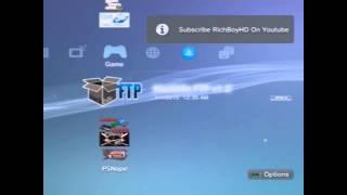 Jailbreak on PS3 4.75 + Packages MutiMan Works