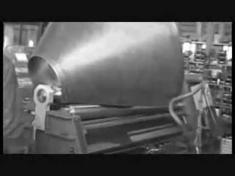 Metal Bending Machine >> Bending machine cone rolling - www.mgsrl.com - YouTube
