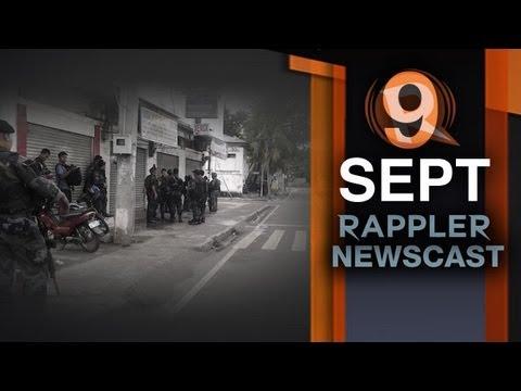 Rappler Newscast: MNLF, Zamboanga attacks, EnrileGate