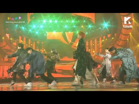 BTS Intro + 'IDOL' @ Melon Music Awards (MMA 2018)