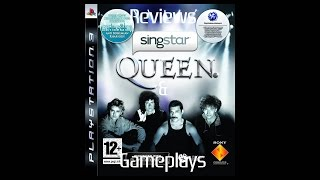 Review & Gameplay - Singstar Queen (Playstation 3)