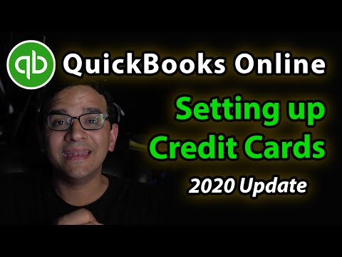 QuickBooks Online Tutorial: Connect A Credit Card With Multiple Sub-accounts & How To Reconcile It