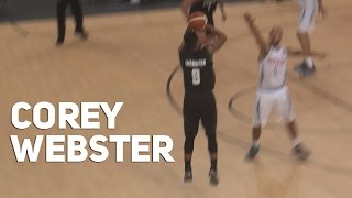 Corey Webster Drops 32 for New Zealand vs Great Britain! 10/15 FG - 5/8 from 3!