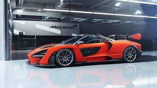 ماكلارين سينا سيارة خارقة جديدة بتصميم مذهل وقوة جبارة