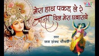 vuclip मेरा हाथ पकड़ ले रे कान्हा दिल मेरा घबराये   SUPERHIT KRISHNA BHAJAN   जय शंकर चौधरी    Video