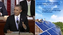 Obama Calls for New Investments in Clean Energy