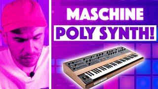 New Maschine Poly Synth Update! Sound Demo & Beat Making (Maschine+ /MK3)