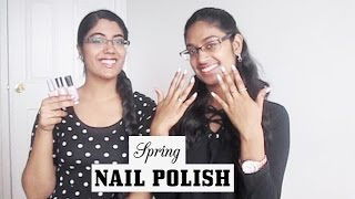 Top 5 Spring Nail Polishes 2017   FloralStud1216