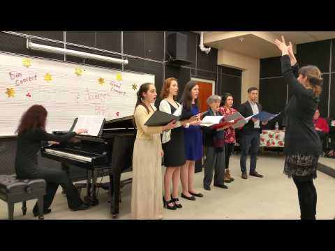McGill University Music department Christmas concert (by music students) Dec 13th 2014