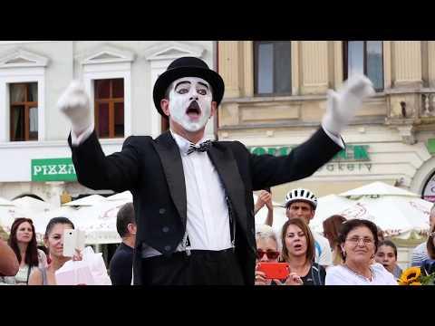 """Flash Mob - Corul Mixt de Cameră """"Concentus"""" al Centrului Cultural Reduta - Brașov"""