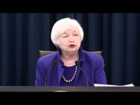 FOMC Chair Janet Yellen musical press conference