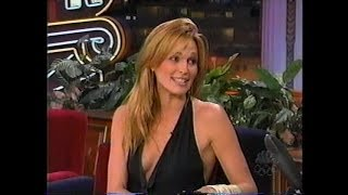 Molly Sims Jay Leno Interview (December 2000)