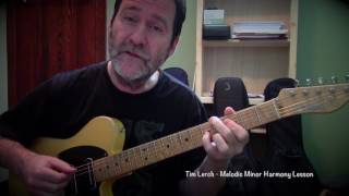 Tim Lerch  - Melodic Minor Harmony Lesson