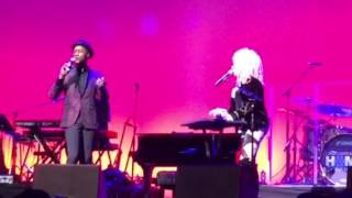Cyndi Lauper/ Aloe Blacc - Time After Time @ The Beacon 12/3/16