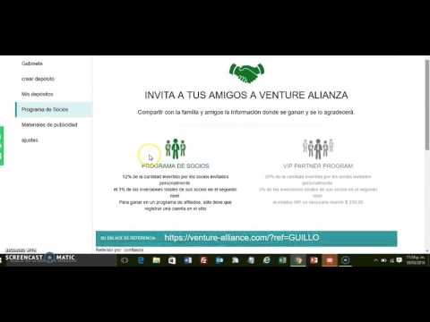 Venture -alliance Que es? Scam? Paga?