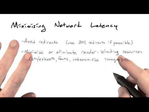 Minimizing latency - Mobile Web Development