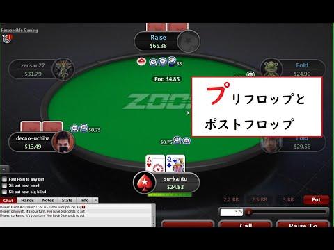 【25NL】プリフロップとポストフロップについて【ポーカースターズ】 #42
