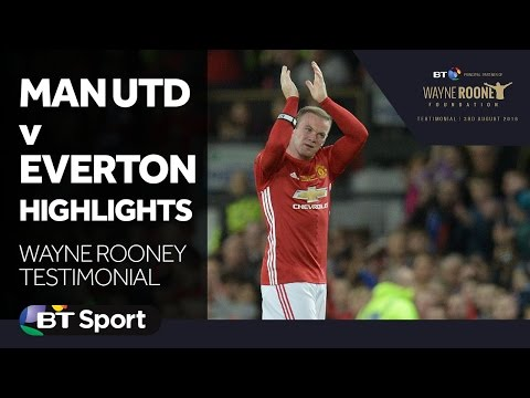 Man Utd 0-0 Everton Highlights | Wayne Rooney Testimonial