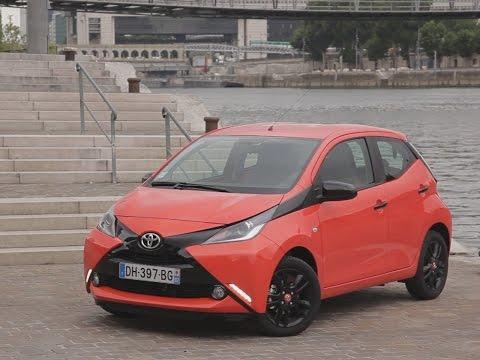 Essai Toyota Aygo 1.0 VVT-i x-cite 5 portes 2014