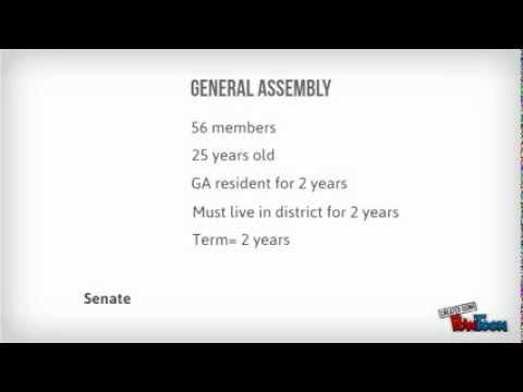Georgia's Branches of Government pt. 1 (Legislative Branch)