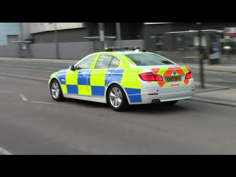 Heddlu Gwent Police - BMW 530d Barely Marked Traffic Car on Patrol