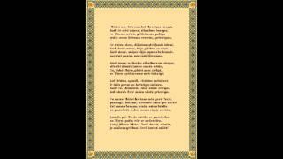 """Aglonas bazilikas (Basilica Aglonensis) himna """"Jaunava svētā Aglonas baznīcā"""""""