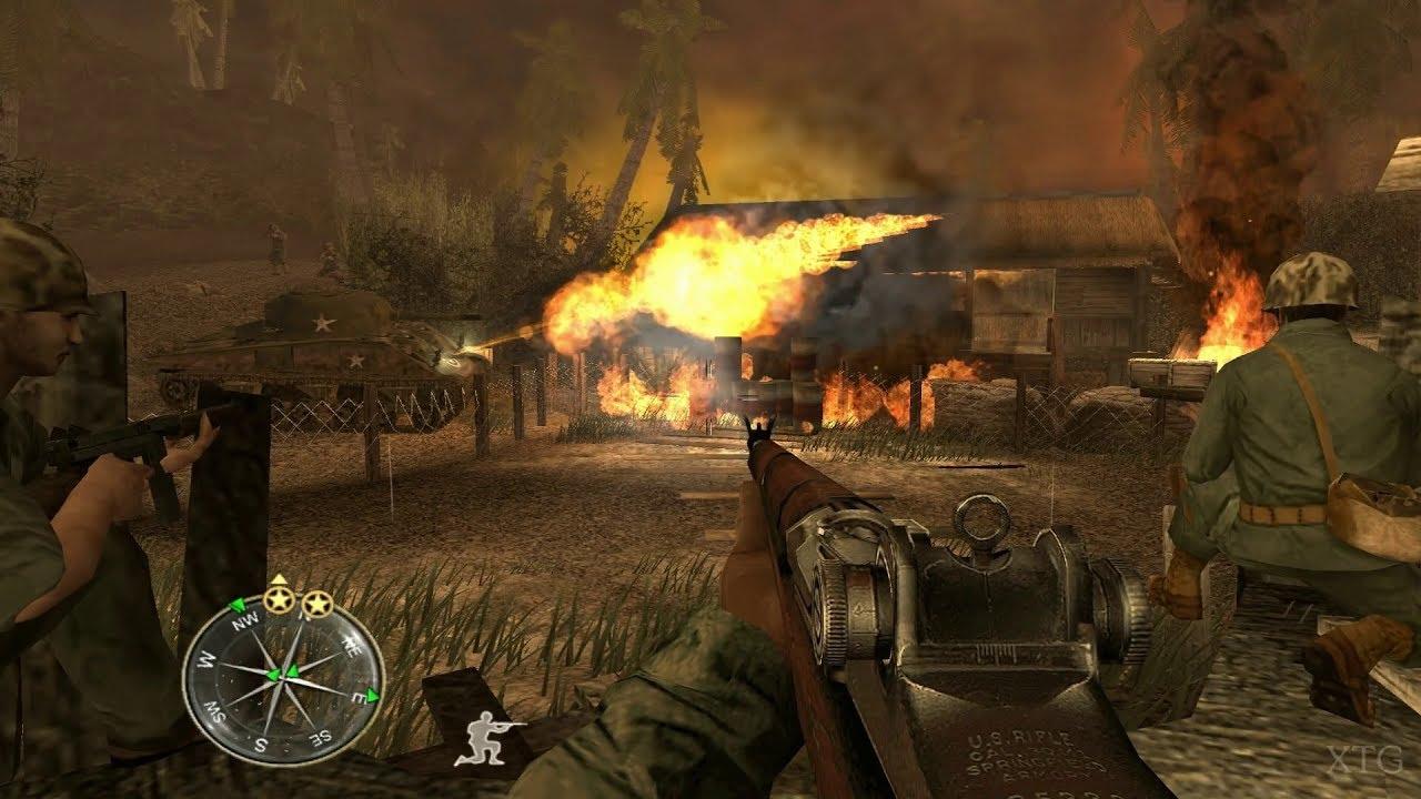 Call Of Duty: World At War Final Fronts PS2 Gameplay HD (PCSX2)