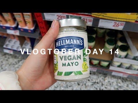 A Vegan Week: Shopping & Haul · Vlogtober Day 14