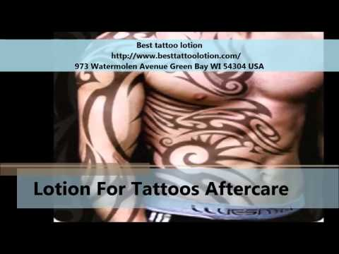 Best tattoo lotion tattoo aftercare products youtube for Lotion for tattoo aftercare