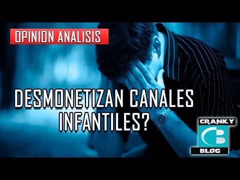 Desmonetizan Canales Infantiles En Youtube? Ley Coppa.