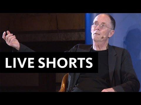 """William Gibson & James Gleick: """"Cyberspace & Prosthetic Memory"""" 