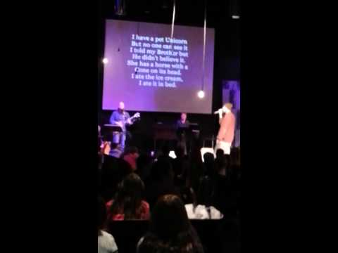 Hakim Crampton Raps lyrics written by Students