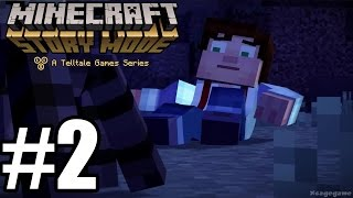 Minecraft Story Mode Episode 1 - Gameplay Walkthrough Part 2 [ HD ] No Commentary