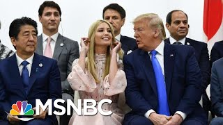 Ivanka G20 Appearance & Role In Trump's North Korea Meeting Raises Questions | The 11th Hour | MSNBC