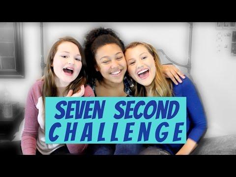 7 SECOND CHALLENGE ft. BROOKE AND LOLLI SORENSON