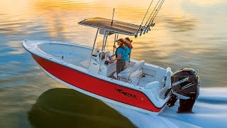 MAKO Boats: 2016 204 CC Offshore Fishing Boat