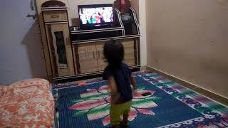 18 month Child Dance on video | KAALA SONG | SONE KI TU EK MURAT | kaala karikaalan | Rajnikanth |
