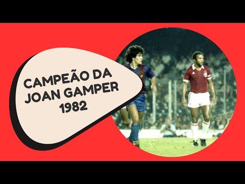 Inter Campeão da Copa Joan Gamper 1982