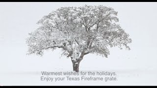 Stay Warm For Many Seasons To Come. | Texas Fireframe Grate.