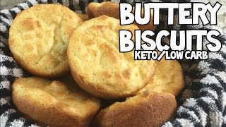Buttery Biscuits | Keto | Low Carb | Gluten Free