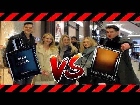 Männliche Attraktivität- Bleu de Chanel vs. Dolce Gabbana The one