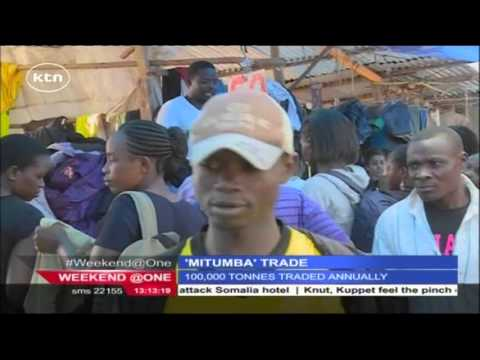 Second hand clothing (Mitumba) business in Nairobi