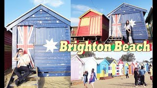 Colorful Brighton Beach Huts - Chinese Food In Melbourne | SYDNEY + MELBOURNE 2018 Episode 7