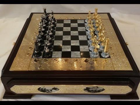 Шахматы. VIP подарки. VIP Gift. Chess. Златоуст