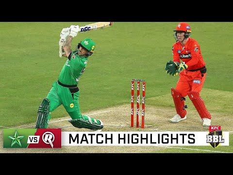 Stars take bragging rights over Renegades in BBL derby | KFC BBL|10 thumbnail
