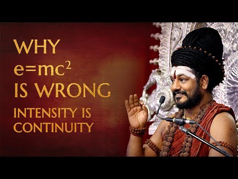 Insights on E = mc² - Intensity is Continuity