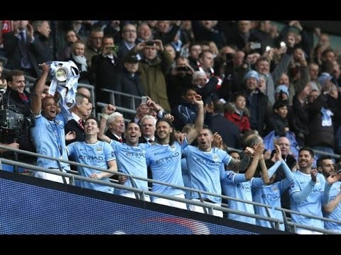 Manchester City WIN Capital One Cup   Man City Win